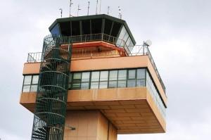 Torre de control del Aeropuerto de Menorca.