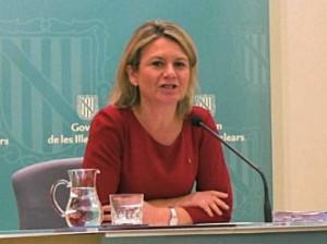 Núria Riera, consellera de Educación.