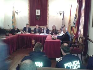 El conseller Juan Manuel Lafuente ha presidido el Consejo de Coordinación celebrado en Alaior. FOTO.- CAIB