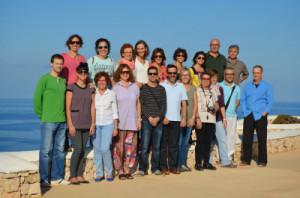 Una veintena de voluntarios se encontraron en el Faro de Cavallería.