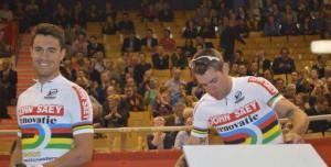 Torres y Muntaner, antes de la carrera (Foto: Rueda Lenticular)