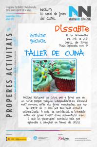 Cartell AlternaNits 2014-15 - 1er Taller de cuina