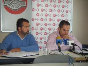 Llorenç Valls y Miguel Ángel Romero.