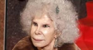La familia de la aristócrata solicitó que se la trasladara a su casa.