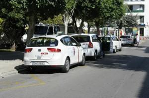Parada de taxis de s'Explanada de Maó (Foto: Tolo Mercadal)