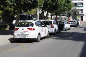parada taxis plaza explanada de mao