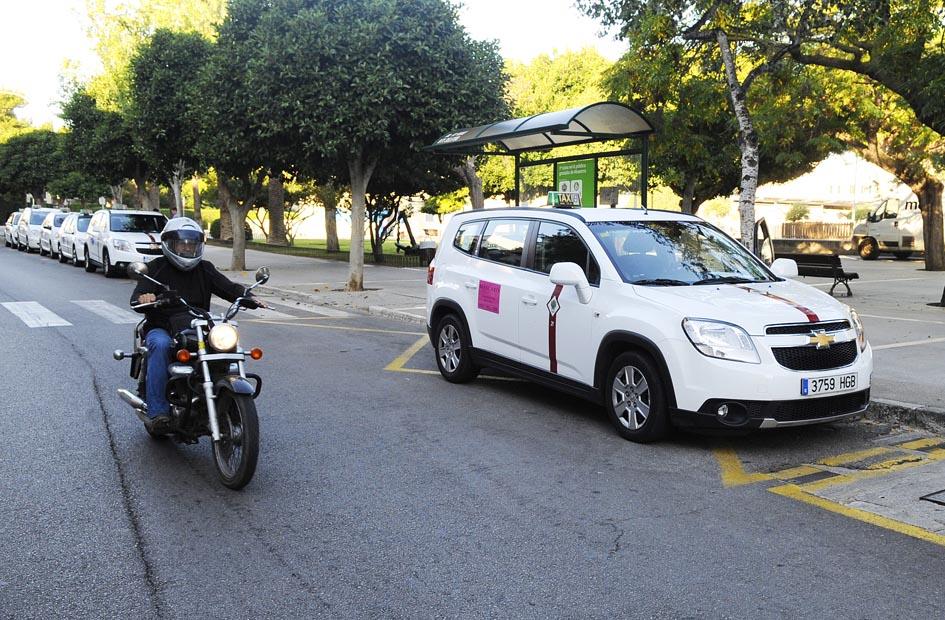 parada de taxis plaza explanada de mao