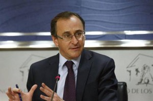Alonso era portavoz del Grupo Parlamentario Popular. FOTO.- Moncloa