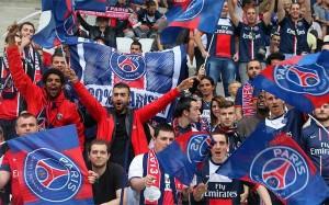 Aficionados del PSG.