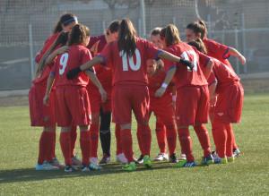 Piña del equipo sub 18 (Fotos: futbolbalear.es)