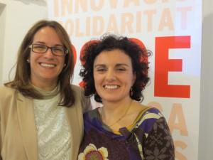 Susana Mora y Noemí Gomila.