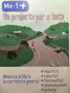 Portada del folleto que se está distribuyendo por los domicilios menorquines.