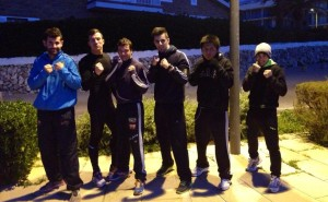 Imagen de los boxeadores del Físics.