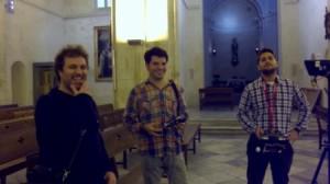 Pacific Camps, Carles Rubio y Samuel Olives en la Catedral. Foto: Fernando de la Puerta.