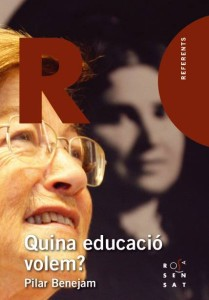 Portada del nuevo libro de Pilar Benejam.