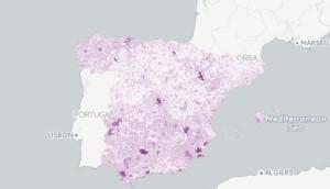 El mapa de candidaturas refleja la progresiva implantación de la nueva formación. FOTO.- Podemos