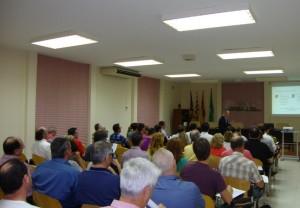 Medio centenar de personas asistieron a la primera conferencia del ciclo. FOTO.- PIME Menorca