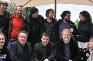 Guiem Soldevila Junto a Lluís Llach en el 'Terra i Cultura' de 2011.