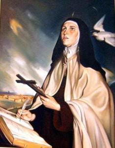 Santa Teresa de Jesús.