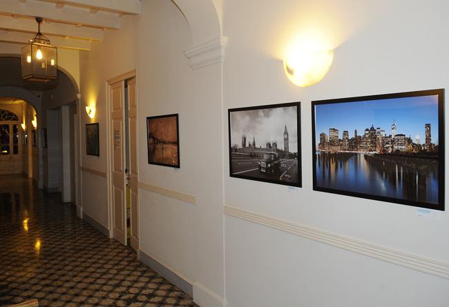 exposicion de photobloggers en el hotel de ses bruixes