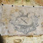 arranque de las pinturas del pati de sa lluna para su restauracion