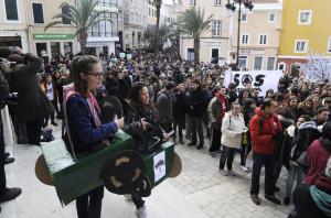 manifestacion anti rotondas