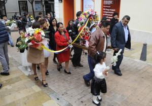 procesion virgen quinche de ecuador