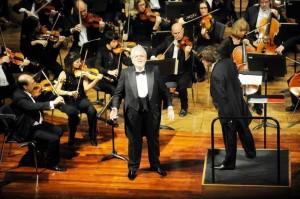 El barítono Joan Pons, en una de sus actuaciones. FOTO.- Tolo Mercadal