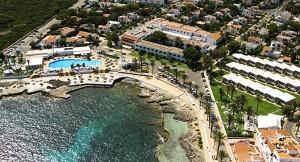 Vista área de parte de S'Algar Resort.