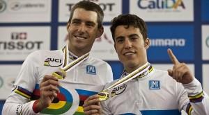 Torres, con el oro del mundial.