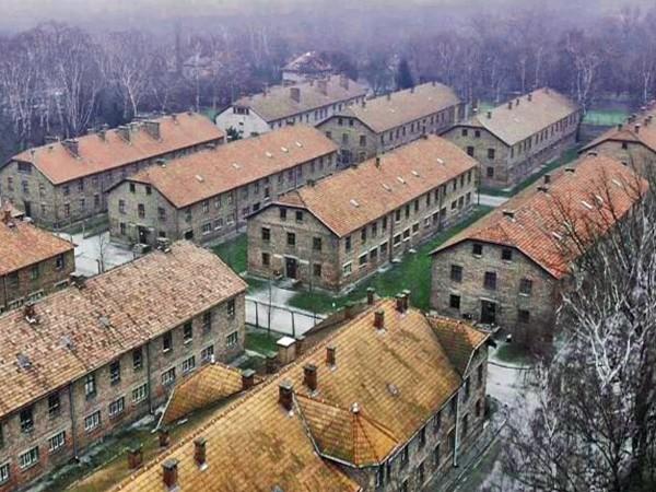 Auschwitz con un drone de la BBC