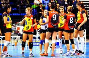 Jugadoras del Miranda, durante un partido (Foto: diariodeburgos.es)
