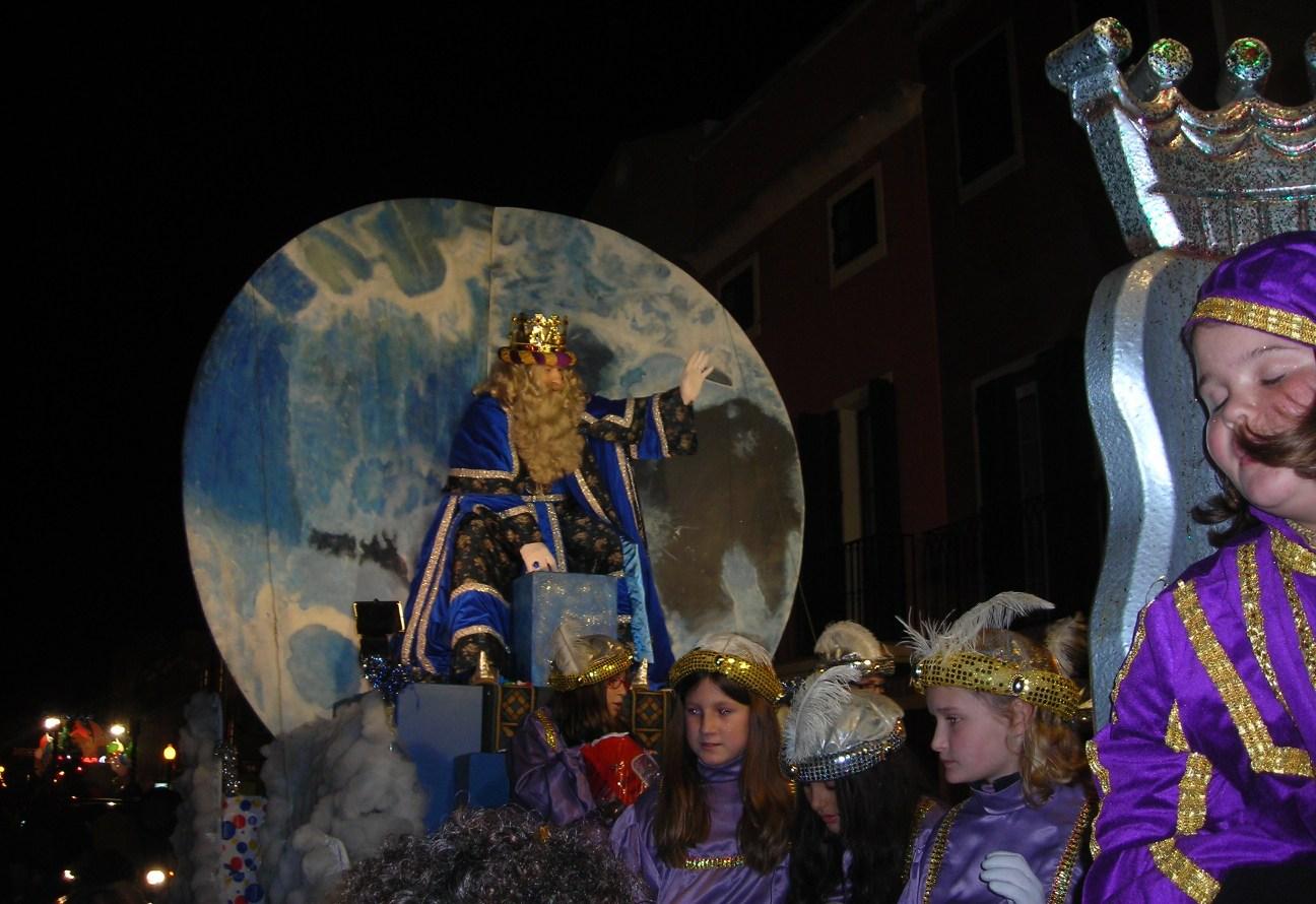 Imagen de archivo de una cabalgata de los Reyes Magos en Ciutadella