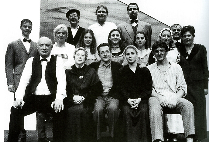 Compañía José Delfín Serra que en 2001 puso en escena 'L'amo en Xec de s'Ullastrar'