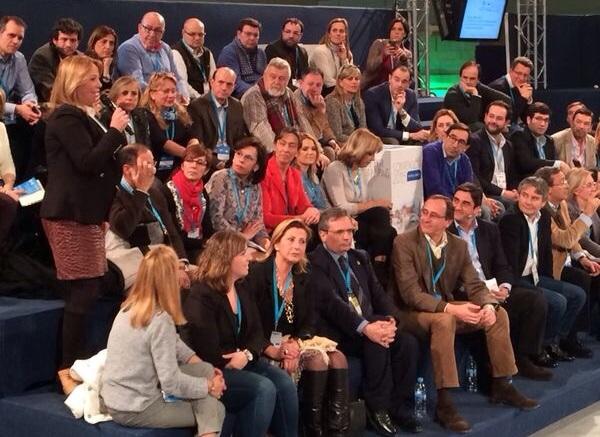 FOTO INTERVENCIÓN ÁGUEDA REYNÉS CONVENCIÓN
