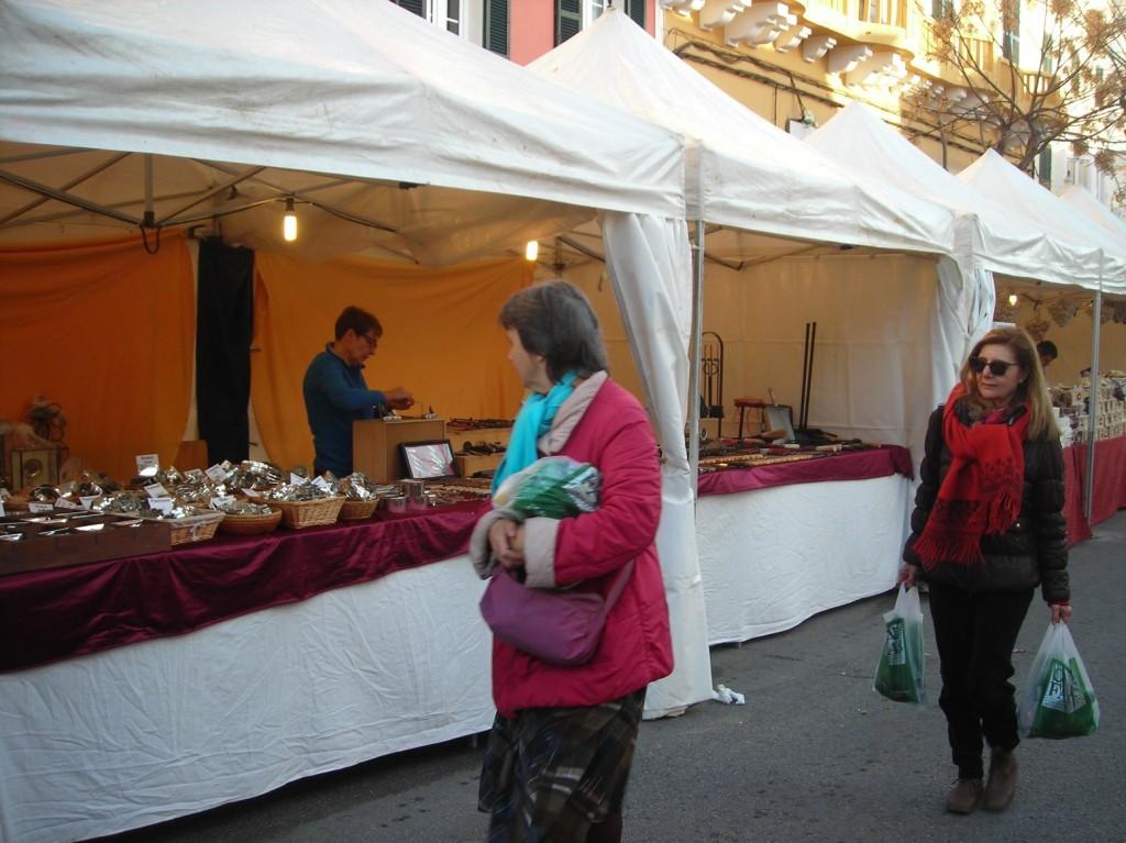Fira artesanal i d'alimentació Sant Antoni Ciutadella.