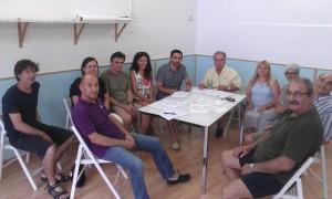 Fotografía de juliol de 2014, cuando se constituyó la Coordinadora d'Associacions de Veïns de Maó.