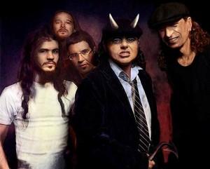 Imagen del cartel anunciador de la actuación de The Billy Young Band en Maó.