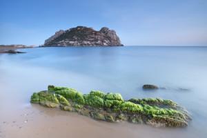 Isla del Fraile en Águilas (Murcia).