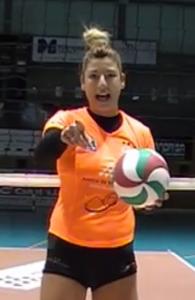 Bea Vázquez, en el vídeo.