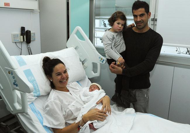 nil capo cantalapiedra primer nacimiento del 2015 junto a sus padres