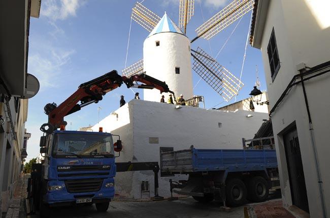 restaurado el moli de baix de sant lluis
