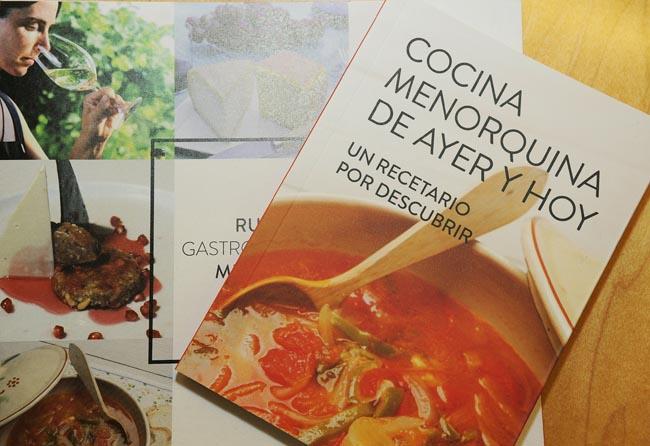salome con pime y asociacion restauradorespresentacion libro cocina recetas menorquinas