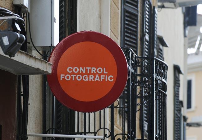 radar de velocidad y fotografico en cami des castell y calle carmen