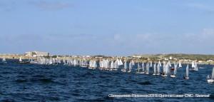 Diferentes momentos de las regatas (Fotos: Nieves Reguero Alonso/ Siesreal)