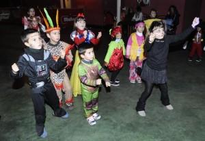 Fiesta infantil en el teatro del Casino.