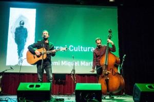 Guiem Soldevila en el Born Centre Cultural de Barcelona. Foto: G.S.