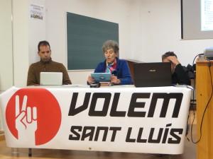 Los promotores durante el acto. FOTO.- VSL