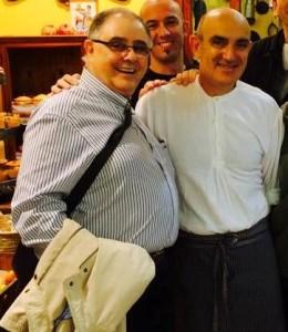 Miquel Mariano Vadell y Tomeu Arbona.