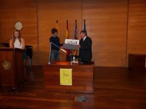 Momento del acto institucional del 150º aniversario del IES Joan Ramis el pasado 25 de noviembre.